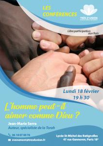 Conférence de Jean-Marie Serra : «L'homme peut-il aimer comme Dieu ?» @ Lycée Saint-Michel des Batignolles